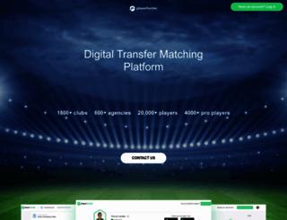 playerhunter.com screenshot