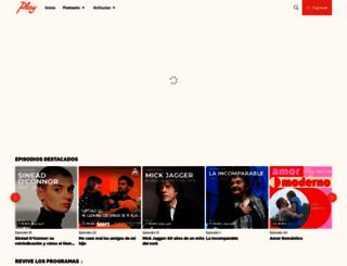 playfm.cl screenshot