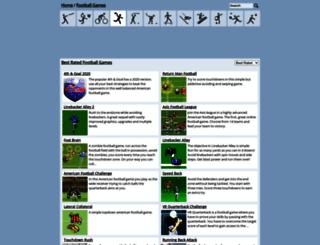 playfootballgames.org screenshot