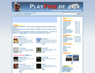playfree.be screenshot