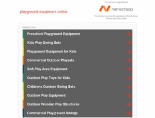 playground-equipment.online screenshot