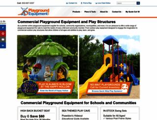 playgroundequipment.com screenshot