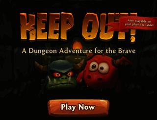 playkeepout.com screenshot