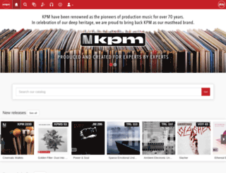 playkpmmusic.com screenshot