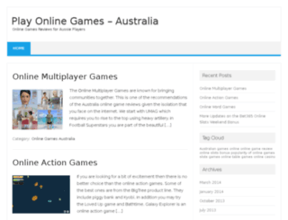 playonlinegamesaustralia.com screenshot