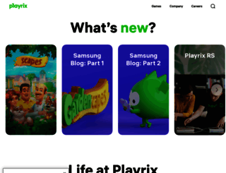 playrix.com screenshot
