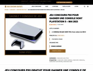 playstationplusleague.fr screenshot