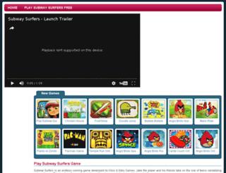 playsubwaysurfersgame.com screenshot