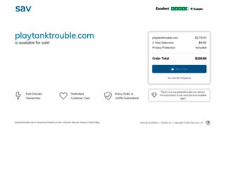 playtanktrouble.com screenshot
