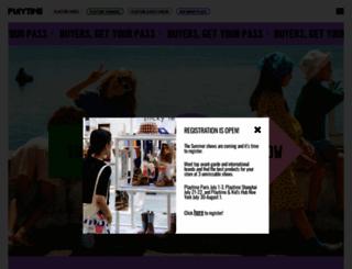 playtimeparis.com screenshot