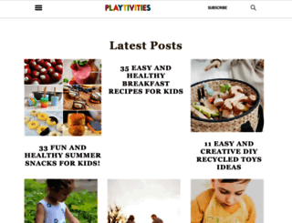 playtivities.com screenshot