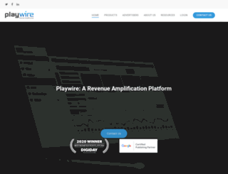 playwiremedia.com screenshot