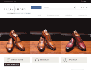 plaza-shoes.com screenshot