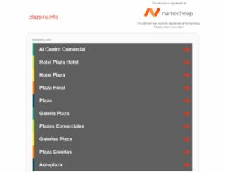 plaza4u.info screenshot