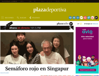 plazadeportiva.com screenshot
