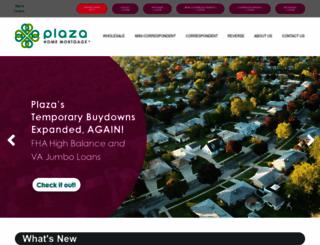 plazahomemortgage.com screenshot