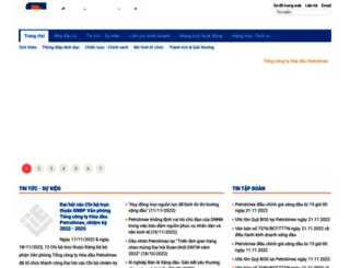 plc.petrolimex.com.vn screenshot