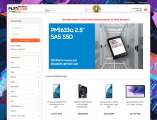 plexcom.de screenshot