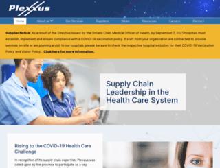 plexxus.ca screenshot