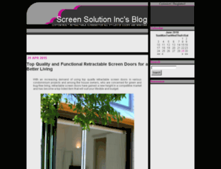 plissescreen.sosblogs.com screenshot