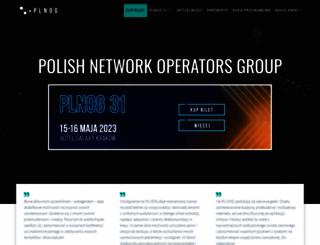 plnog.pl screenshot