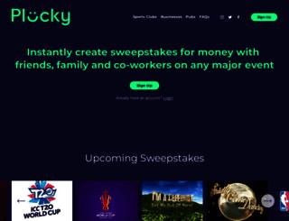 plucky.com screenshot