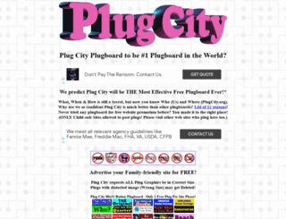 plugcity.org screenshot
