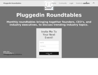 pluggedinbd.evolero.com screenshot