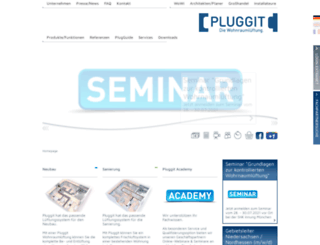 pluggit.com screenshot