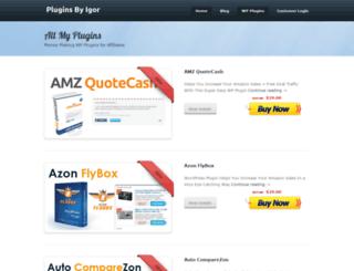 pluginsbyigor.com screenshot