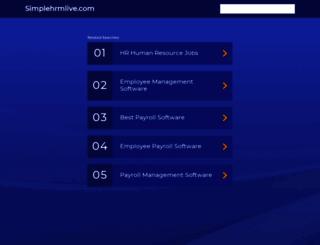pluginsdemo.simplehrmlive.com screenshot