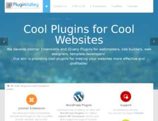 pluginvalley.com screenshot