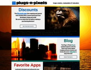 plugsandpixels.com screenshot