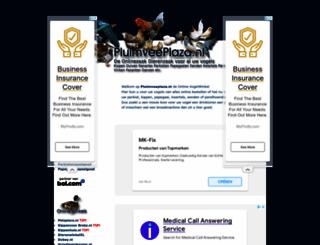 pluimveeplaza.nl screenshot