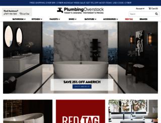 plumbingoverstock.com screenshot