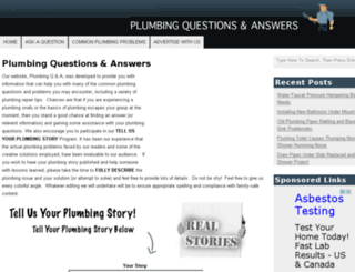 plumbingqa.com screenshot