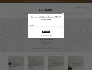 plumm.com screenshot