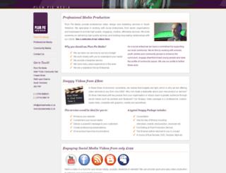 plumpiemedia.co.uk screenshot