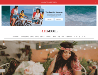 plus-model-mag.com screenshot