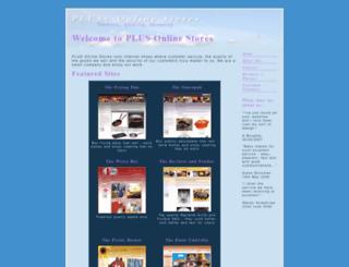 plus-online-stores.co.uk screenshot