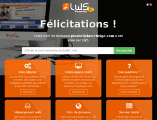 plusbellelaviebelge.com screenshot