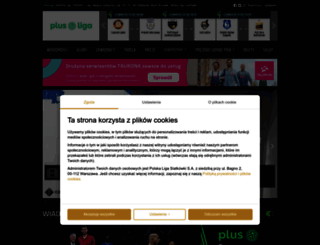 plusliga.pl screenshot