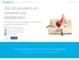 plusser.nl screenshot