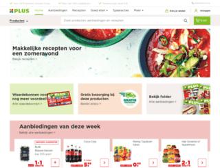 plussupermarkten.nl screenshot