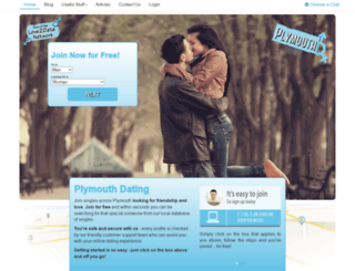 plymouth-dating.co.uk screenshot