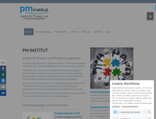pm-institut.de screenshot