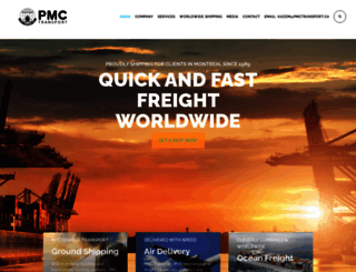pmctransport.ca screenshot