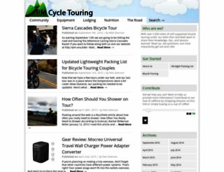 pmcycletouring.com screenshot