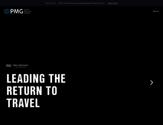 pmg.com screenshot