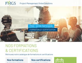 pmgsgroup.com screenshot